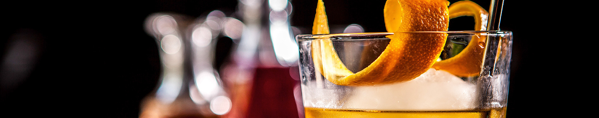 The Twelve Cocktails Book Official Website Header
